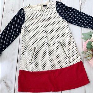 Baby GAP Color Blocks Dress